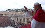Pope Francis first Greeting