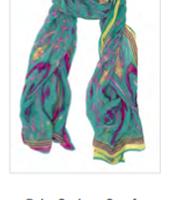 Palm Springs Ikat Scarf Reg $59 ~ Sale $30