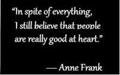 HOW HAS ANNE FRANK MADE A DIFFERENCE