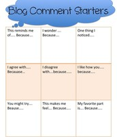 Blog comment starters