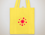 Yellow Bakery Tote Bag