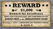 REWARD $1,000