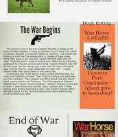 War Horse -  Book Report Project