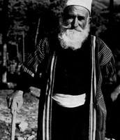 לבוש גבר דרוזי מסורתי