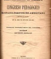Congreso Nacional Pedagogico 1882