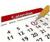 Mark your Calendar!!!