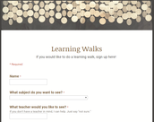 Learning Walks