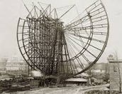 Construction of the Ferris Wheel