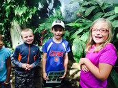 2nd graders enjoyed their time at the Quad City Botanical Gardens on Monday!