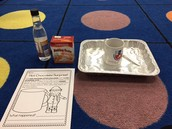 Hot Chocolate, Baking Soda and Vinegar Experiment
