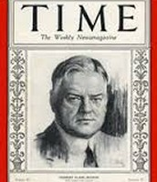 Herbert C. Hoover Time magazine