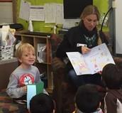 Sebastian's Mom Reads to Us!