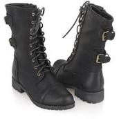 Las botas de combate