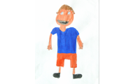 John the Bully, artwork done when 'younger'
