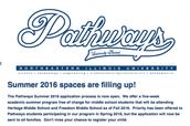 Pathways Summer Program