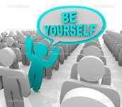 Being yourself is awesome