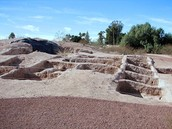 The Hohokam city uncovered near the canal