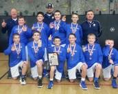 7th Grade Boys Stephenson County Tourney Champions