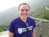 Shelly Knight, 2014, will share her experiences of living in China during fall 2014. Come hear about her exciting adventure and start planning for your own!