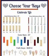 Pick Your Keys