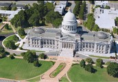 Aerial of the Capitol Building