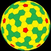 Heptagons and Hexagon