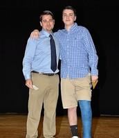 Mr. Lopez and Daniel Gentile