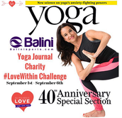 Amanda Leggings on Yoga Journal
