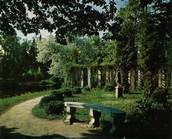 The Upper Park. Pergola
