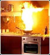 prevent kitchen fire's