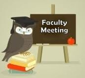 Faculty Meeting this Week