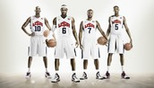 2012 USA Men's Basketball Uniforms