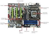 Matinees on motherboards and all other components.