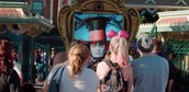 Mad Hatter Thrills Disneyland Goers On Live Billboard (US)