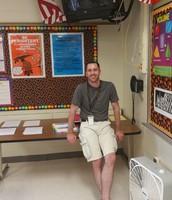 Mr. Benziger Loves Math!