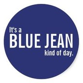 Free Jean Day on Wednesday!