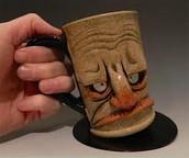 Albert the boring man mug