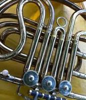 The french horn slides