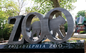 Tomen un foto en el zoológico de filadelfia
