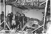 הנזק למבנה לאחר ניסיון ההתנקשות בהיטלר