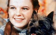 Judy Garland with Toto