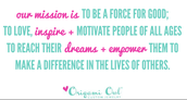 Our Mission Statement!