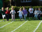 On your marks......Sports day