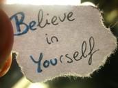 What is positive self-esteem