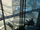 Glass window  Cleaning