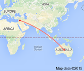 Distance From Syria To Australia