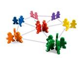 Een netwerk van mensen