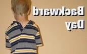 Backwards (sdrawkcab) Day