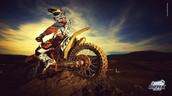 Racing motocross