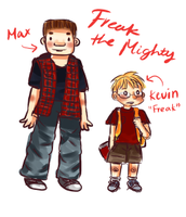 Freak/Kevin AND Maxwell/Max